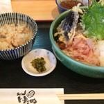 47520797 - 天おろしぶっかけ(冷)定食 1000円