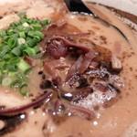 麺屋 紡 - キクラゲ