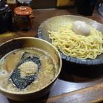 つけ麺屋 ひまわり - 味玉つけ麺(中)