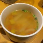 47523296 - セットのスープ