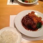 キッチン TANKO - better half は海老フライ^^