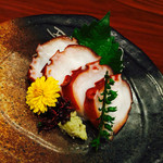 遊食酒蔵 味源 - 横須賀猿島の蛸の刺身♪