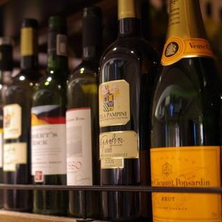 4名様ごとに『ちょっと贅沢』ボトルワインを1本プレゼント!