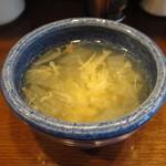 美味卵家 - スープ付きます