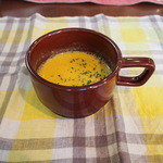 ザ ピンク ウィードカフェ - バターナッツ南瓜のスープ♪
