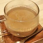 カフェ メリメロ - ほうじ茶ラテ