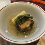温味 - 焼き鮑と筍