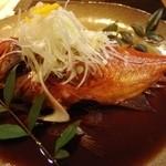 大人の隠れ家和食 ひより - 金目鯛の煮付け