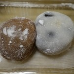 祇園饅頭 - (2015/12月)にっき餅と豆大福