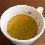 ポーズ - スープ