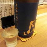 蕎麦cuisine hayakawa - 月山の純米酒