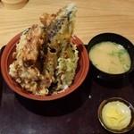 天ぷら海鮮 五福 - 豚ロース天丼