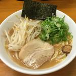 47530227 - 麺屋 一(広島県広島市西区楠木町)らー麺(醤油とんこつ)680円