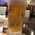 うちなぁー泡盛館 - オリオンビール680円