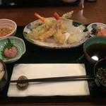 レストラン櫻 - 天麩羅盛り合わせ  ¥2040
