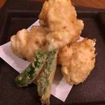 旬の味 菜々せ - 極上白子天ぷら