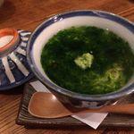 旬の味 菜々せ - 白子入り茶わん蒸し