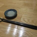 吉次蟹蔵 - 蟹の箸置き(笑)