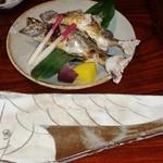 47533589 - 強肴 岩魚塩焼き