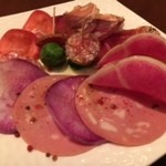 ビストロノミー・ラトリエ1959・ヨコハマ - 生ハムのサラダ