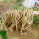 長浜御殿 - 麺は最近思うっちゃばってん普通がいっちゃん良かと思うったいね~