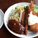 れすとらんゆうき - 料理写真:よくばりB ¥1100