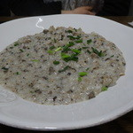 アマルフィイ キッチン - 国産鶏と岡山県産マッシュルームのクリームリゾット