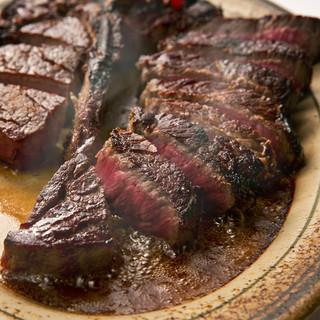 """""""品質、熟成、焼き・にこだわった極上ステーキ"""