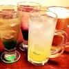 八剣伝 - ドリンク写真:飲み放題は70種以上(ビール・カクテル・サワー・焼酎・日本酒・ノンアルコールカクテル)