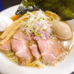 麺処 晴 - 特製そば(醤油)
