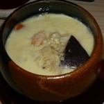 47544794 - 海鮮モノとチーズ入り茶碗蒸し