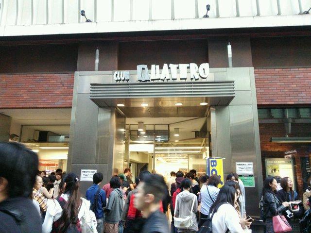 渋谷 クラブ クアトロ