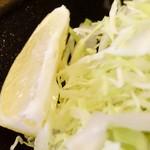 とんかつ小満ち - 2016.1 カキフライ定食 2200円