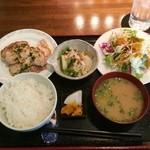 ごんわーるど - 肉系のランチ(豚バラ香味焼き)850円