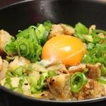 ばーばらラーメン - チャーシュー丼