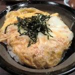 4755432 - 裏メニューと言うか「後づくり」の玉子丼(^^;)