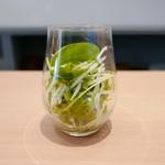 京洋食 まつもと - セットのサラダ