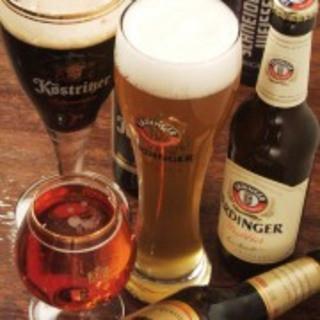 ドイツビールが16種類!!!
