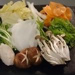 47551073 - お野菜の種類も豊富!ホタテのツミレも美味!