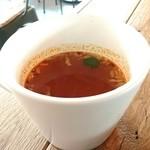 山小屋の台所 ミートラボ - スープ(ランチセット)