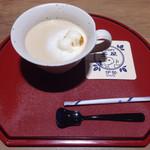 47551776 - スヌーピーほうじ茶ラテ