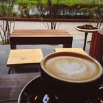 レックコーヒー - カプチーノ 430円