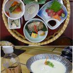 魚信 - 花籠御膳。魚信(愛知県岡崎市)食彩品館.jp撮影