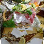 魚信 - 特選刺身御膳。魚信(愛知県岡崎市)食彩品館.jp撮影