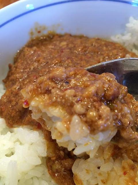 ねぎっこ  下川俣店 - ハーフラーメンセットの肉味噌丼(普通サイズです)