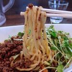 四川担担麺 阿吽 - つゆ無し担々麺・4辛(830円)