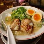 麺屋 七福神 堀川御池店 - 煮玉子ラーメン(820円)