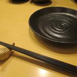 日本酒スローフード とやま方舟 - 雷鳥の箸置き