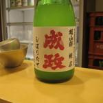 日本酒スローフード とやま方舟 - 成政純米しぼりたて