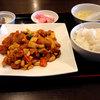 黄鶴楼 - 料理写真:鶏肉の四川風炒め680円